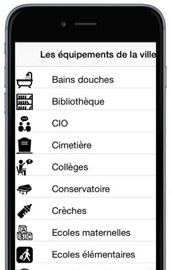 liste des équipements